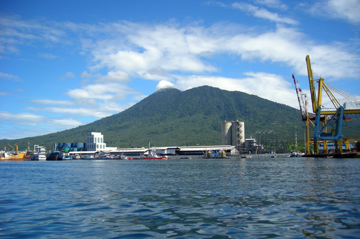 Bitung harbour, North Sulawesi, Indonesia