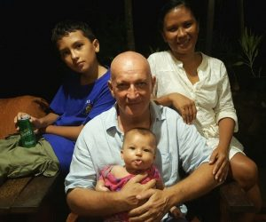 Sinke family: Linda, Adrian, Indah and Rob