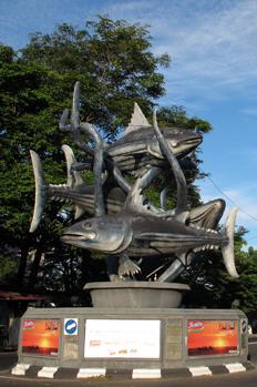 Cakalang (Skipjack-tuna) statue