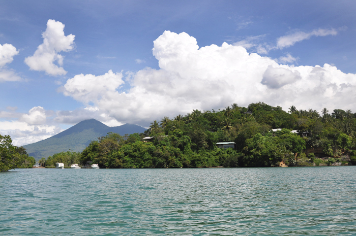 Divers Lodge Lembeh - view from the bay