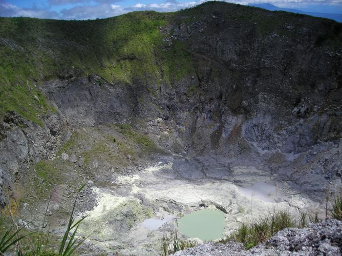 Mahawau Volcano