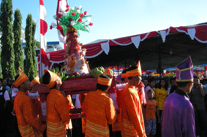 Tulude, yearly thanksgiving of Sangihe tribe in Bitung