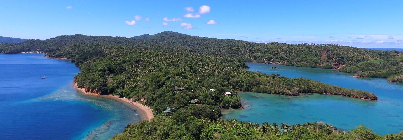 Nature resort on Lembeh Island